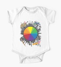 Artist Tools - Color Wheel One Piece - Short Sleeve