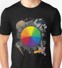 Artist Tools - Color Wheel T-Shirt