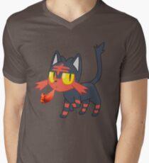 Team Litten Men's V-Neck T-Shirt
