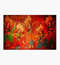 Balinese Painting Photographic Print