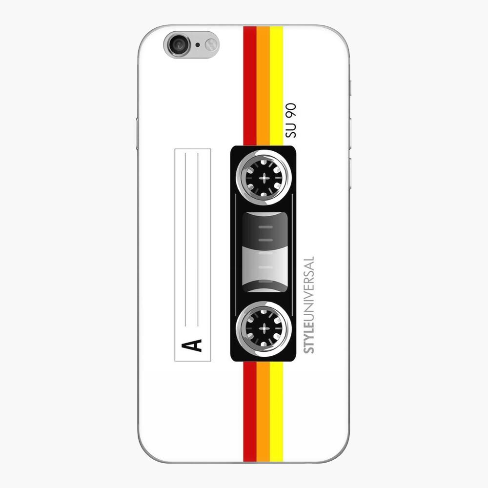 Diseño de cinta de cassette Vinilo para iPhone