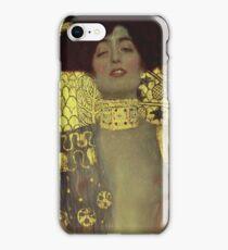 Gustav Klimt - Judith - Klimt -Judith iPhone Case/Skin