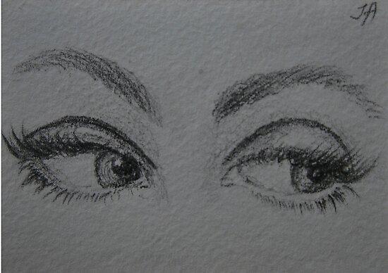beautiful eyes by Inese
