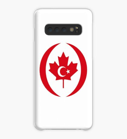 Turkish Canadian Multinational Patriot Flag Series Case/Skin for Samsung Galaxy