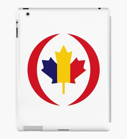 Romanian Canadian Multinational Patriot Flag Series iPad Case/Skin