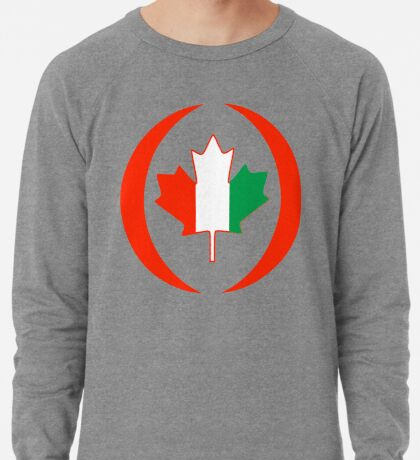 Ivory Coast Canadian Multinational Patriot Flag Series Lightweight Sweatshirt