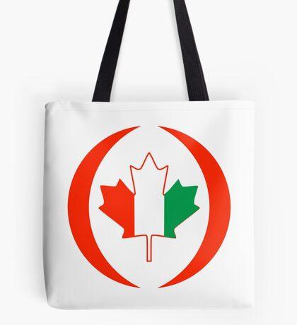 Ivory Coast Canadian Multinational Patriot Flag Series Tote Bag