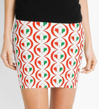 Ivory Coast Canadian Multinational Patriot Flag Series Mini Skirt