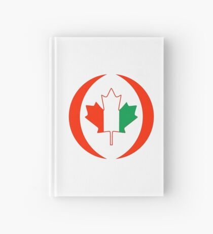 Ivory Coast Canadian Multinational Patriot Flag Series Hardcover Journal