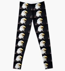 The Call of the Bald Eagle Leggings