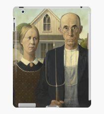 Grant Wood - American Gothic iPad Case/Skin