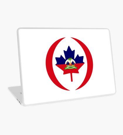 Haitian Canadian Multinational Patriot Flag Series Laptop Skin