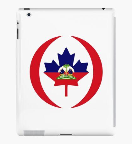 Haitian Canadian Multinational Patriot Flag Series iPad Case/Skin