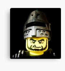 The Frightening Knight is here Canvas Print