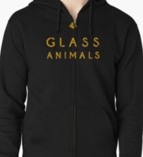 Glass Animals Yellow Zipped Hoodie