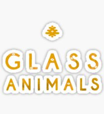 Glass Animals Yellow Sticker