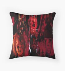Masters Of All Horrors Throw Pillow