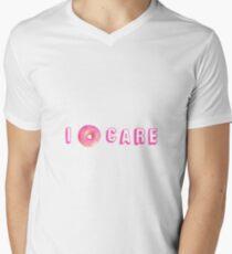 I DONUT CARE - TUMBLR - Men's V-Neck T-Shirt