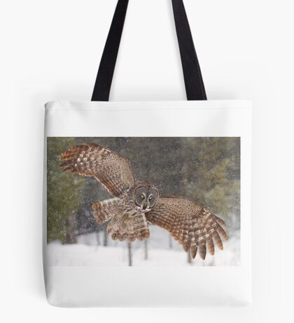 Awesome! - Great Grey Owl Tote Bag