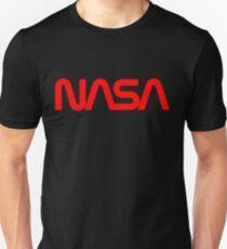 Camiseta unisex Logotipo de Worms de la NASA