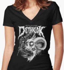 Dethklok Women's Fitted V-Neck T-Shirt