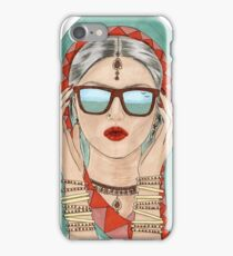 Desi girl iPhone Case/Skin