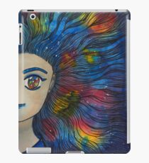 Fantasy Galaxy Manga Girl iPad Case/Skin