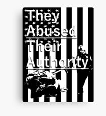 Abuse Canvas Print