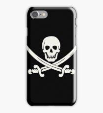 White Pirate iPhone Case/Skin