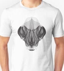"""Cat Skull """"x-ray"""" T-Shirt"""