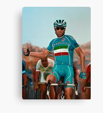 Vincenzo Nibali Painting Canvas Print