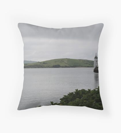 Lonesome Tower Throw Pillow