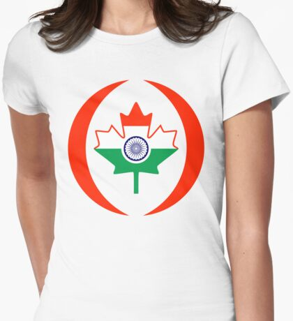 Indo Canadian Multinational Patriot Flag Series T-Shirt