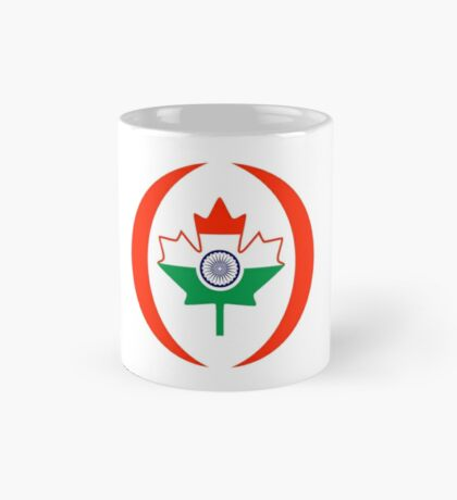 Indo Canadian Multinational Patriot Flag Series Mug