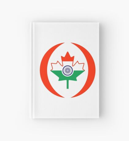 Indo Canadian Multinational Patriot Flag Series Hardcover Journal