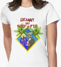 Granny Sez! Women's Fitted T-Shirt