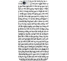 Thunder Road Springsteen iPhone Case/Skin