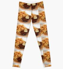 Steak and Fries Leggings