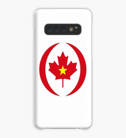 Vietnamese Canadian Multinational Patriot Flag Series Case/Skin for Samsung Galaxy