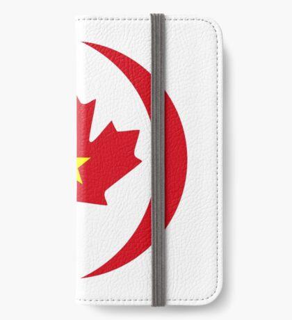Vietnamese Canadian Multinational Patriot Flag Series iPhone Wallet