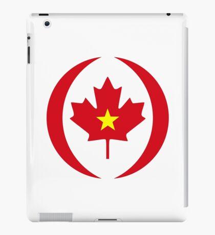 Vietnamese Canadian Multinational Patriot Flag Series iPad Case/Skin