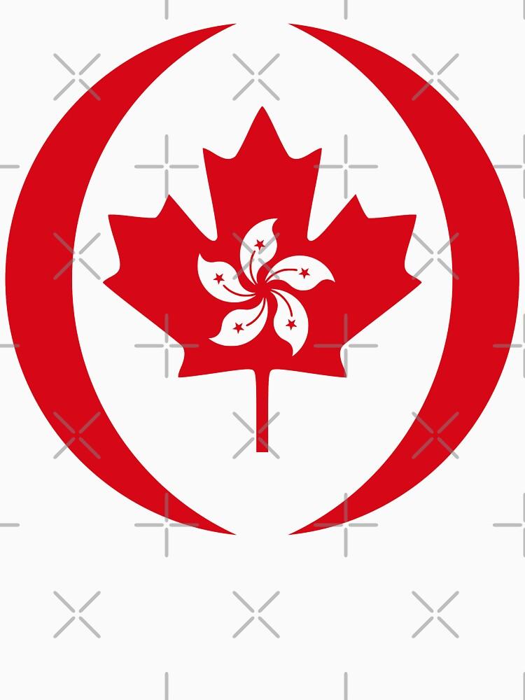 Hong Kong Canadian Multinational Patriot Flag Series by carbonfibreme