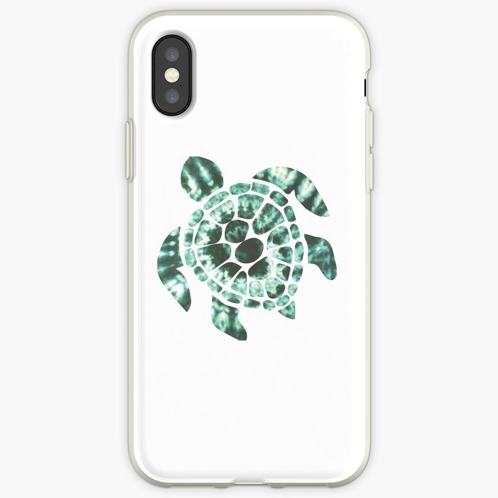 Tie Dye Sea Turtle 2 Funda y vinilo para iPhone
