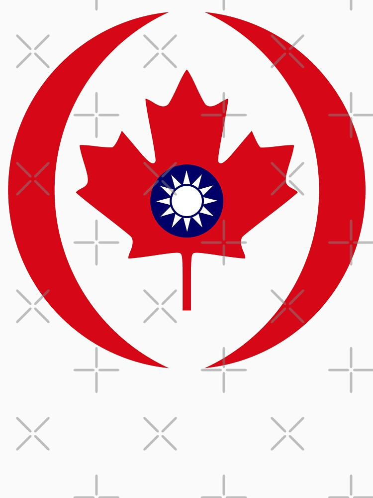 Taiwanese Canadian Multinational Patriot Flag Series by carbonfibreme