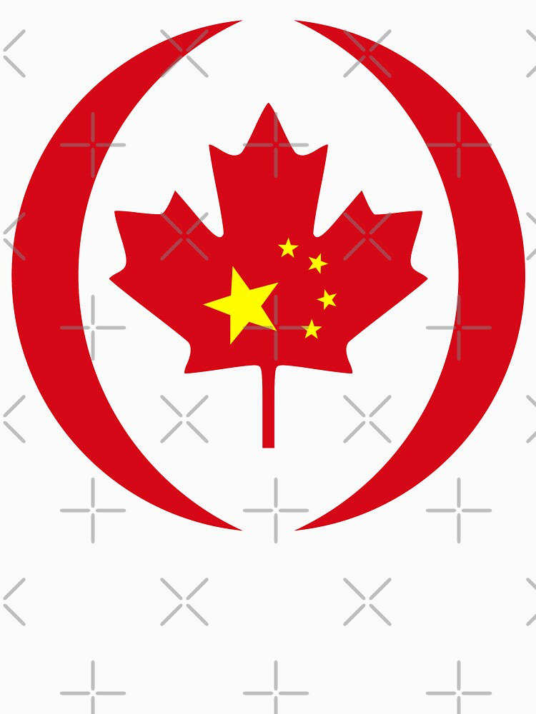 Chinese Canadian Multinational Patriot Flag Series by carbonfibreme