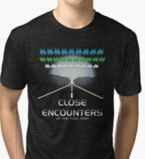 Close Encounters of the Pixel Kind Tri-blend T-Shirt