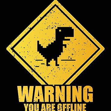 Warning Offline by piercek26