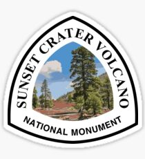 Sunset Crater Volcano National Monument Sticker