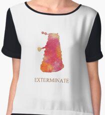 Exterminate  Chiffon Top