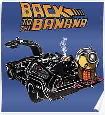 Back To The Banana v2 Poster